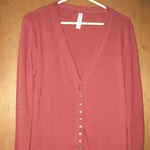 Snap Front Cardigan Sweater